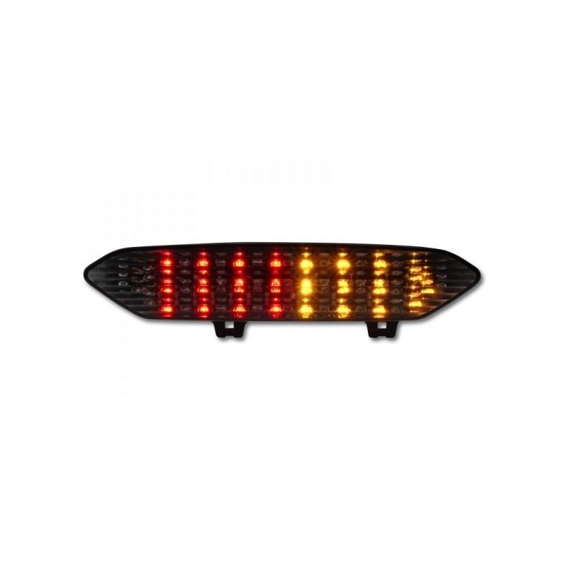 YAMAHA YZF-R1 1000 (02-03) SMoked LED Achterlicht met geintegreerde knipperlichten