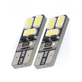 LED wit BA9s SMD, BA9 T11 licht (per paar)