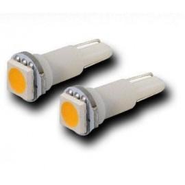 Witte Canbus T5 dashboard LED lampjes 3 SMD leds per lampje (per paar)
