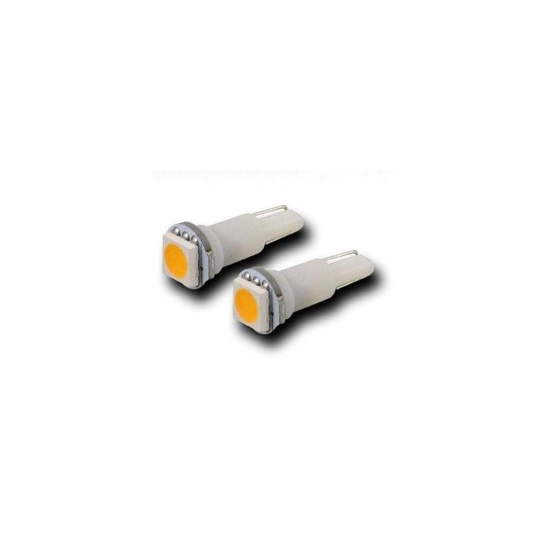 Witte T5 Led Smd Wedge Lampje Per Paar