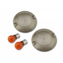 HARLEY DAVIDSON o.a. Road King SMOKE knipperlicht lenzen inclusief lampjes