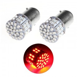 LED T25 BAY15D Rood...