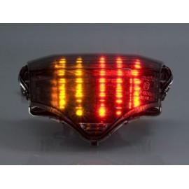 Yamaha FZ-6 (04-07) Smoked LED achterlicht met geintegreerde knipperlichten