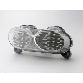 Kawasaki ZX-6R 636 (02-02) Transparant LED Achterlicht