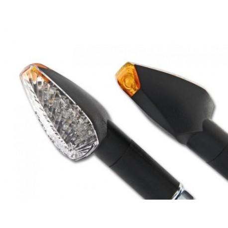 LED richtingaanwijzer 20mm Rock zwart