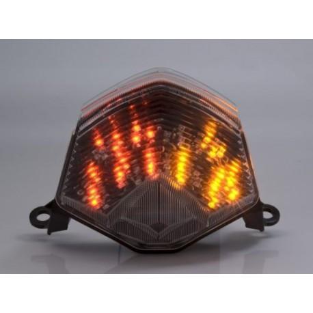 KAWASAKI Z 1000 (07-09) Smoked LED Achterlicht met geintegreerde knipperlichten