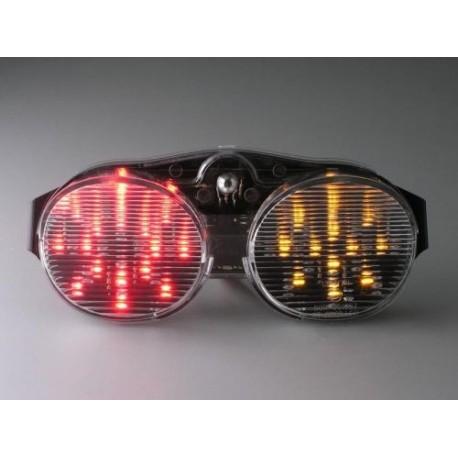 YAMAHA YZF-R6 600 (01-02) Helder LED Achterlicht met geintegreerde knipperlichten