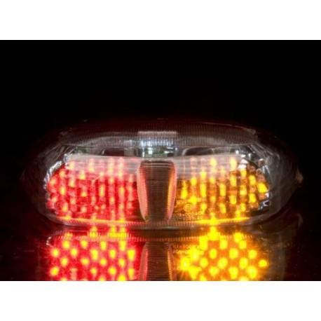 YAMAHA YZF-R6 600 (99-00) helder LED Achterlicht met geintegreerde knipperlichten