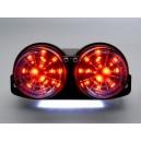 APRILIA RSV 1000 R TUONO (02-05) Smoked LED achterlicht met geintegreerde knipperlichten
