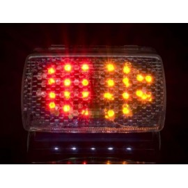 YAMAHA FZ 750 (87-90) helder LED Achterlicht met geintegreerde knipperlichten