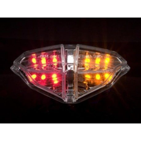 DUCATI 1098 - 1198 Smoked LED achterlicht geintegreerde knippers