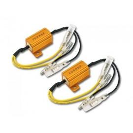Weerstanden 25 W- 6,8 OHM met kabel (paar)
