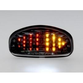 HONDA CBR 1100 XX SUPER BLACKBIRD (97-98) Smoked LED Achterlicht met ingebouwde knipperlichten