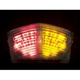 YAMAHA TDM 900 (02-10) helder LED Achterlicht met geintegreerde knipperlichten
