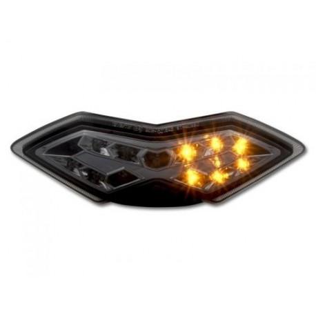 Kawasaki KLE 650 VERSYS (2010-) Smoked LED Achterlicht met geintegreerde knipperlichten