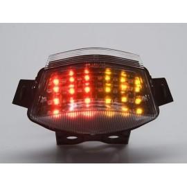 KAWASAKI ER-6N (06-08) Smoked LED Achterlicht met geintegreerde knipperlichten