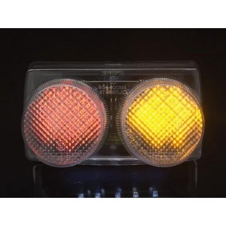 YAMAHA YZF-R1 1000 (98-99) Helder LED Achterlicht met geintegreerde knipperlichten
