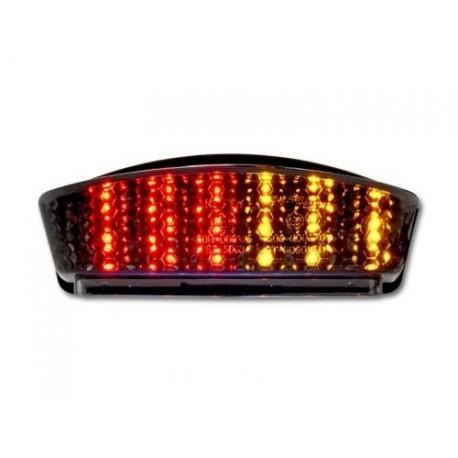 DUCATI Monster Smoked LED achterlicht met geintegreerde knippers voor diverse modellen