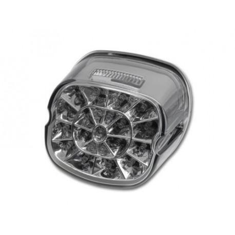 HARLEY DAVIDSON SOFTAIL (99-10) Smoked LED Achterlicht