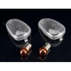 APRILIA MX 50 (04-04) Heldere knipperlicht lenzen incl. lampjes