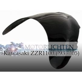 Kuipruit zwart Kawasaki ZZR1100 model 1993-2005