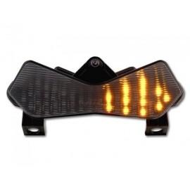 KAWASAKI Z 1000 (03-06) Smoked LED Achterlicht met geintegreerde knipperlichten
