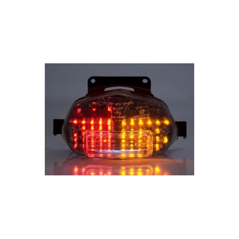 SUZUKI GSX-R 1000 (01-02) Helder LED achterlicht ingebouwde richtingaanwijzers