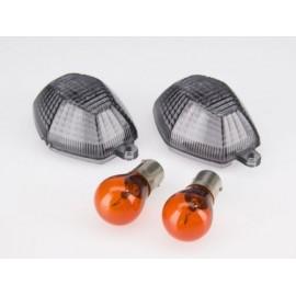 SUZUKI DL 1000 V-STROM (02-10) Smoked Knipperlicht lenzen (per paar)