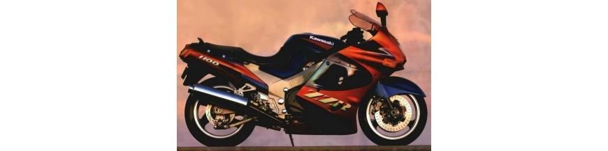 Kawasaki ZZR1100D Zwart windscherm