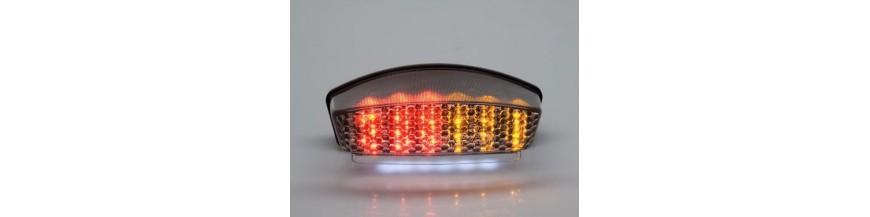 DUCATI achterlichten met geintegreede knipperlichten